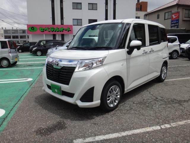 トヨタ ルーミー 1.0 X S  (ホワイト)